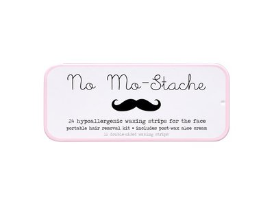 No Mo-Stache Portable Lip Wax Strip Kit, 24 Strips
