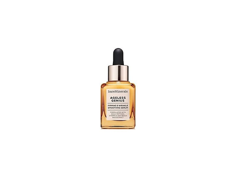 BareMinerals Ageless Genius, Firming and Wrinkle Smoothing Serum, 1 fl oz