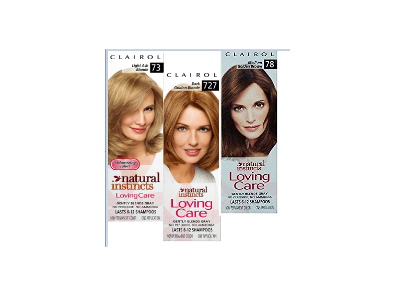 Clairol Natural Instincts Loving Care Non-permanent Color - All Shade Colorant, Moisturizer Rich Conditioner, Procter & Gamble