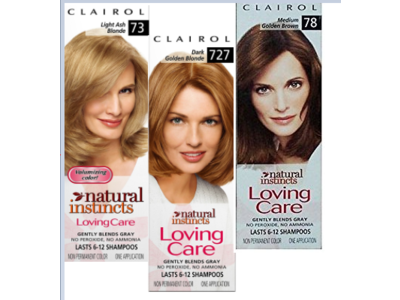 Clairol Natural Instincts Loving Care Non-permanent Color - All Shade Colorant, Moisturizer Rich Conditioner, Procter & Gamble - Image 1
