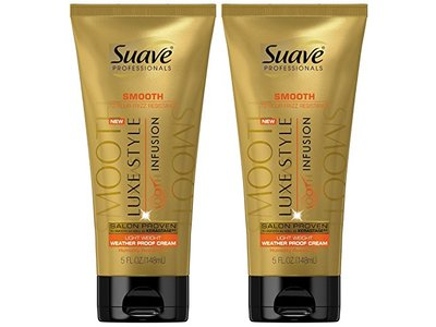 Suave Luxe Style Smooth Lightweight Weather Proof Cream, 5 fl oz (Pack of 2)