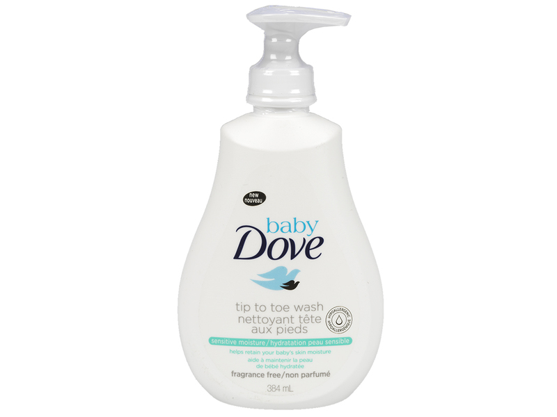 Baby Dove Tip-to-Toe Wash, 384 mL