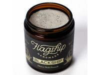 Flagship Pomade Co. Black Ship Heavy Water Based Vegan Pomade, 4oz - Image 3