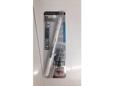 Tattoostudio Waterproof Eyeliner Gel Pencil, 970 Polished White - Image 3