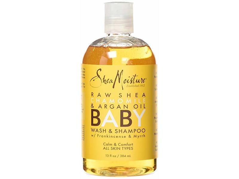 SheaMoisture Raw Shea Chamomile & Argan Oil Baby Wash & Shampoo, 16.9 fl oz