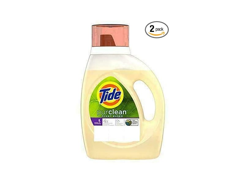Tide Purclean Laundry Detergent,100 fl oz 2.95 L