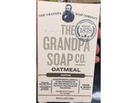 The Grandpa Soap Company Oatmeal Bar Soap, Soothe, 4.25 oz/120 g, Pack Of 4 - Image 3