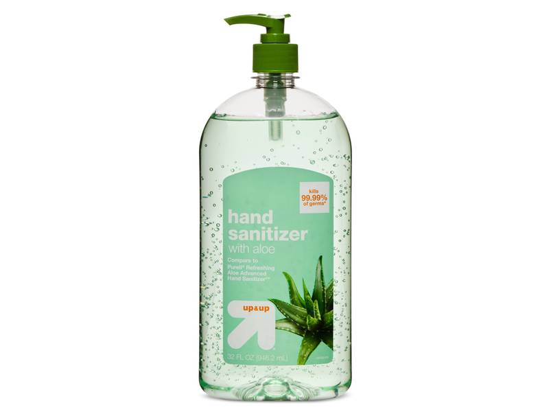 Up & Up Hand Sanitizer Gel With Aloe, 32 fl oz