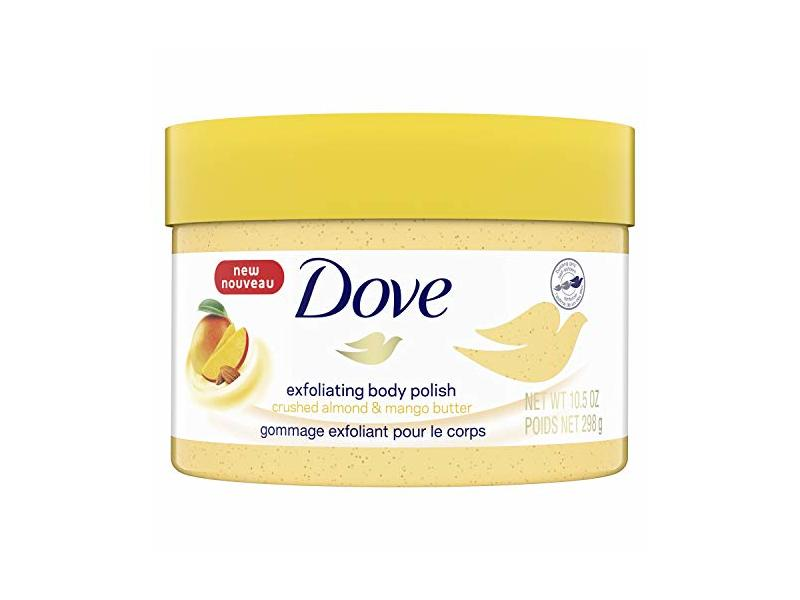 Dove Crushed Almond Mango Butter Exfoliating Body Polish Scrub 10 5 Fl Oz Ingredients And Reviews