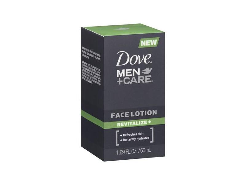 Dove Men+Care Face Lotion, Revitalize