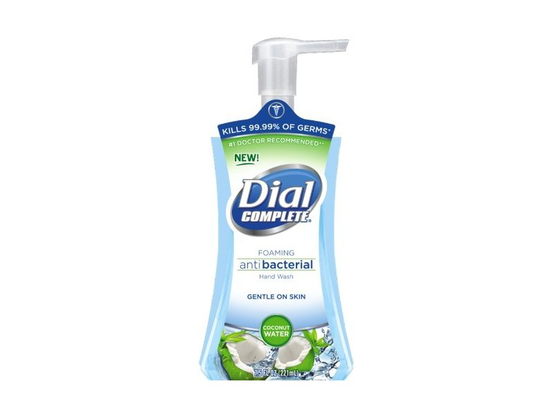 Dial Complete Foaming Antibacterial Hand Wash Coconut