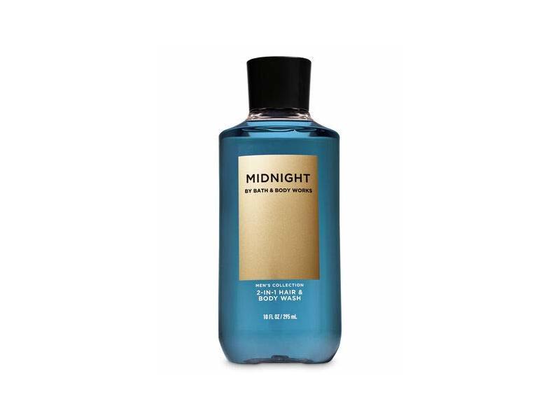 Bath & Body Works Midnight Men's 2-in-1 Hair and Body Wash, 10 fl oz