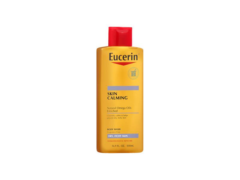 Eucerin Calming Body Wash, 8.4 fl oz