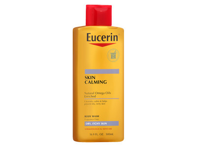 Eucerin Calming Body Wash, 8.4 fl oz