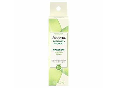 Aveeno® Positively Radiant® Maxglow™ Infusion Drops - Image 1