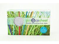 PurEcoSheet Static Eliminator Reusable Dryer Sheets, Chemical Free, 2 Count (500+ Loads) - Image 2