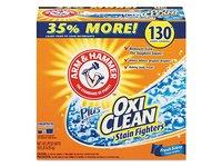 Arm & Hammer Plus Oxiclean Powder Detergent, Fresh, 9.92 lb - Image 2