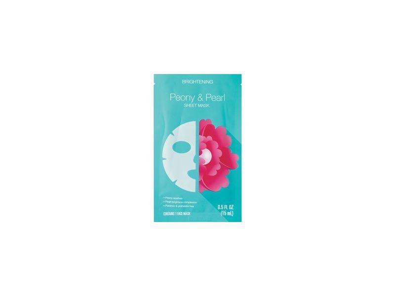 Beauty 360 Brightening Peony & Pearl Sheet Mask