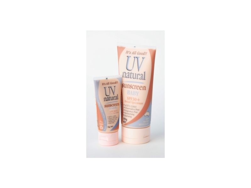 UV Natural Baby SPF 30+ Sunscreen, UV Natural International Pty Ltd