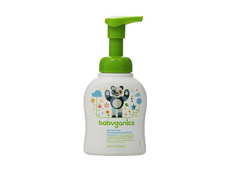 Babyganics Alcohol-free Foaming Hand Sanitizer, 8.45 fl oz
