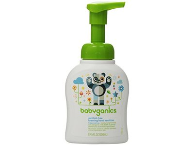 Babyganics Alcohol-free Foaming Hand Sanitizer, 8.45 fl oz