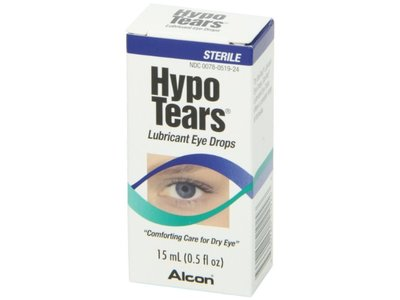 Hypo Tears Lubricant Eye Drops, Sterile - Image 8