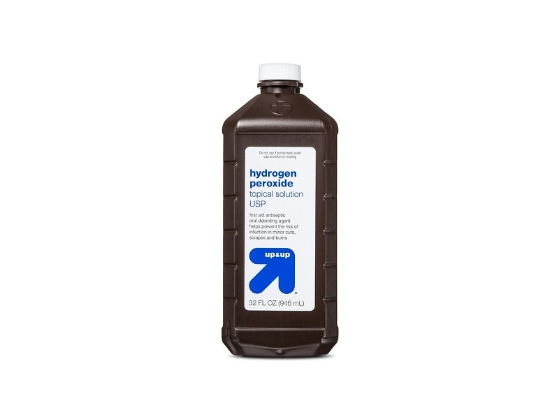 Up & Up Hydrogen Peroxide Topical Solution USP, 32 oz