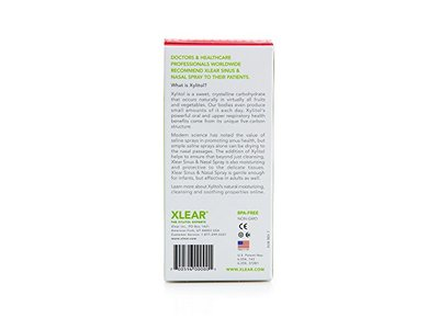 Xlear All Natural Saline Nasal Spray 1.50 Ounces (Pack of 3) - Image 7