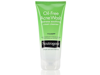 Neutrogena Oil-free Acne Wash Redness Soothing Cream Cleanser, Johnson & Johnson - Image 1
