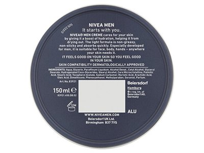 Nivea Men Creme, 150ml - Image 4