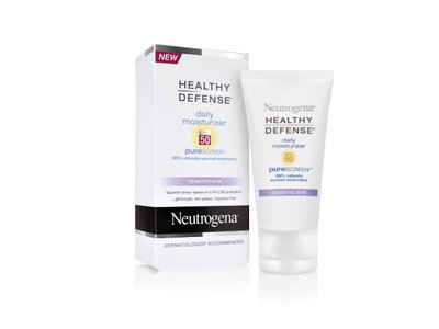 Neutrogena Healthy Defense Daily Moisturizer with PureScreen, SPF 50, 1.7 Ounce (Pack of 2)