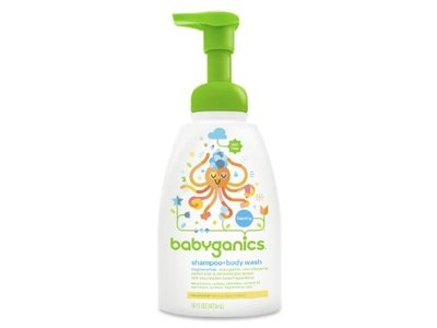 Babyganics Baby Shampoo Plus Body Wash Fragrance Free