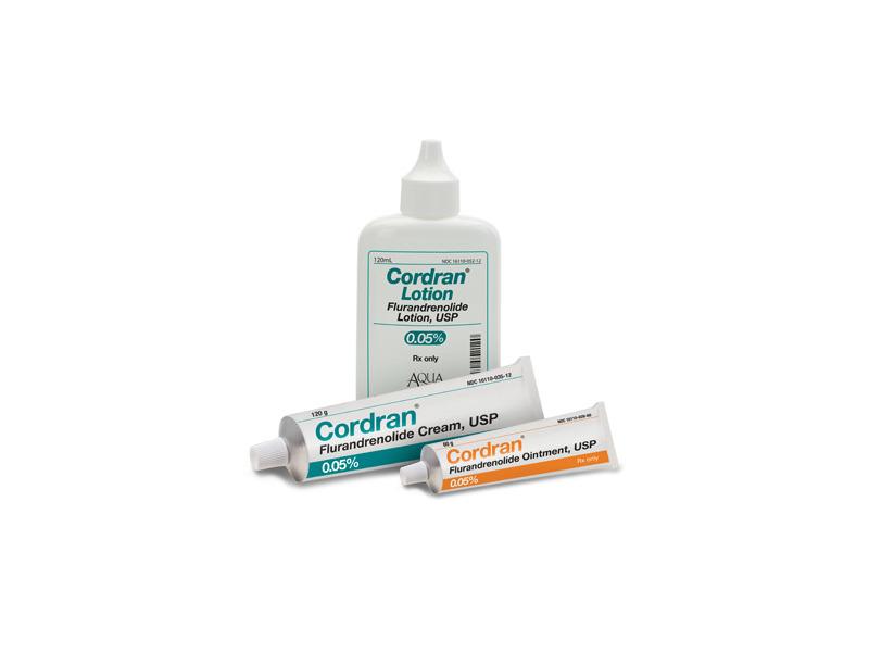 Cordran Topical Ointment 0.05% (RX) 60 grams , Aqua Pharmaceuticals