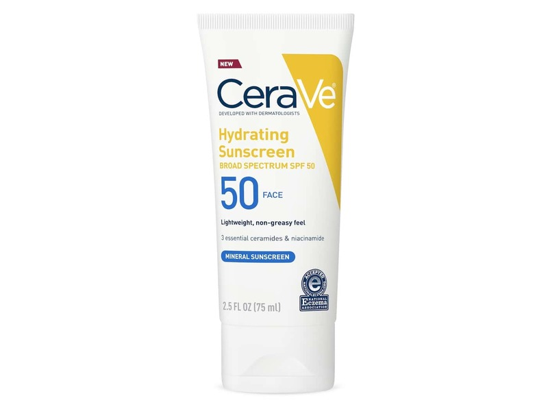CeraVe Hydrating Sunscreen SPF50 Face Lotion