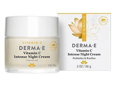 Derma E Vitamin C Intense Night Cream, 2 Ounce