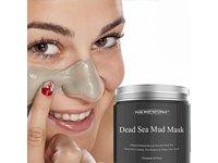 Pure Body Naturals Beauty Dead Sea Mud Mask for Facial Treatment, 250g / 8.8 fl.oz - Image 4