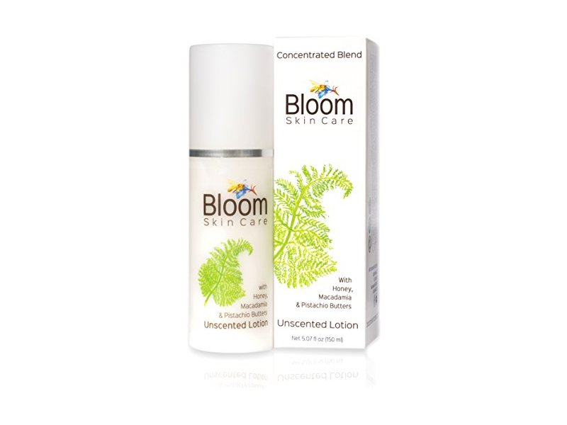 Bloom Skin Care Hand and Body Lotion - Unscented 5.07 oz