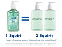 PURELL Advanced Instant Hand Sanitizer with Aloe, 12 oz Bottle - Image 4