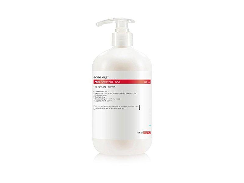 Acne.org AHA+ 10% Glycolic Acid, 16 oz