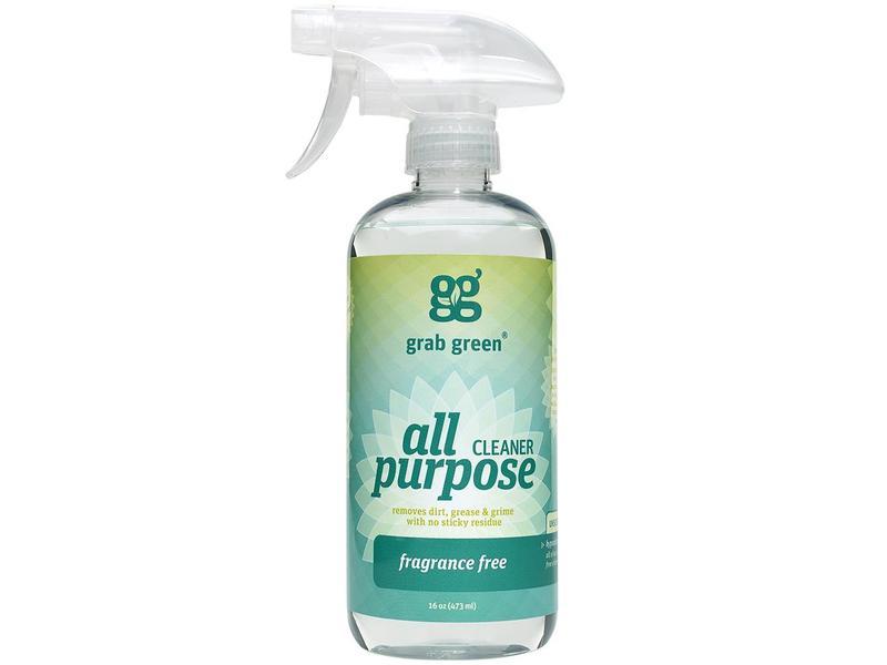 Grab Green All Purpose Cleaner, Fragrance Free, 16 fl oz (473 mL)