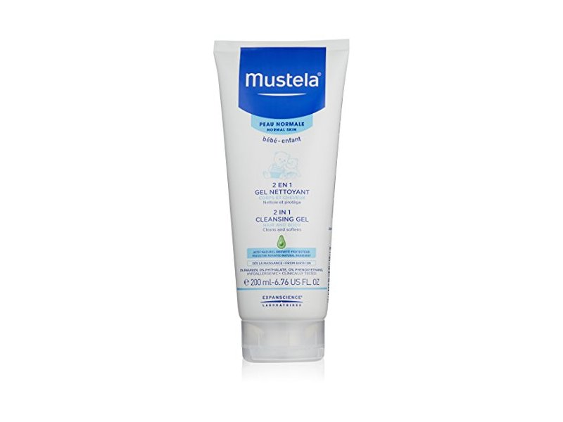 Mustela 2 in 1 Cleansing Gel 200ml   …