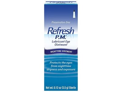 Allergan Refresh P.M Lubricant Eye Ointment,.12oz,2 Count