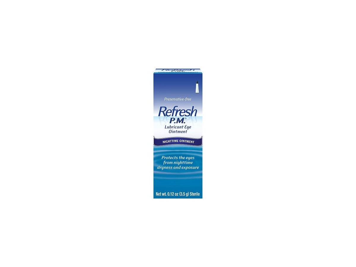 Allergan Refresh P M Lubricant Eye Ointment 12oz 2 Count