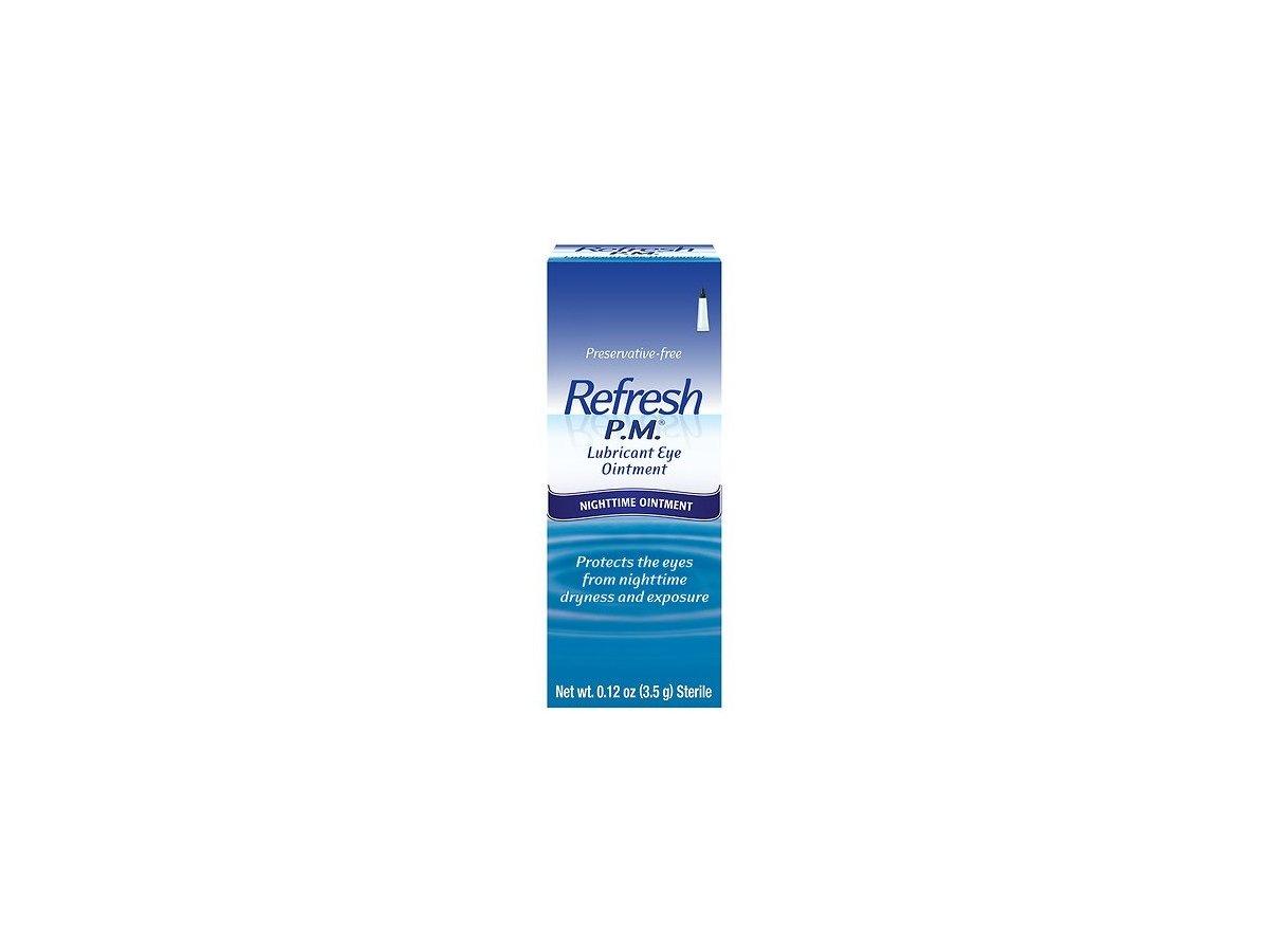 Allergan Refresh P M Lubricant Eye Ointment 12oz 2 Count