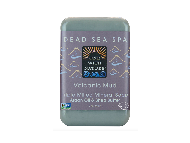 One Nature Bar Soap,Volcanic Mud 7 Oz