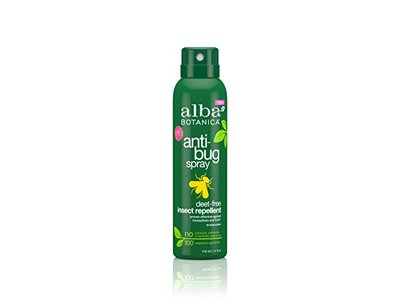 Alba Botanica Anti-Bug Spray, Deet-Free Insect Repellent, 118 mL