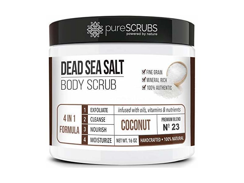 PureSCRUBS Premium Organic Body Scrub Set, 16 oz