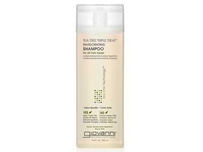 Giovanni Eco Chic Shampoo, Tea Tree Triple Treat, 8.5 fl oz