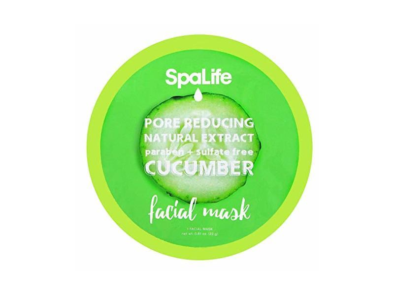 SpaLife Pore Reducing Facial Mask - Cucumber