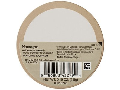 Neutrogena Mineral Sheers Loose Powder Foundation, Johnson & Johnson - Image 3